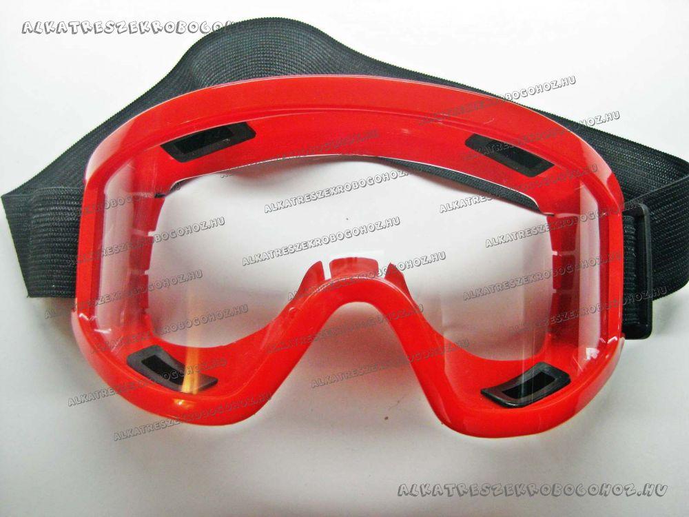 Szemüveg piros