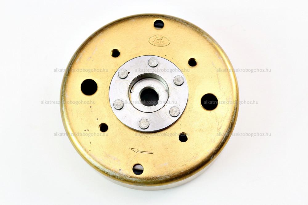 Gyújtás alaplap forgórész GY6 4 ütemű kínai robogóhoz