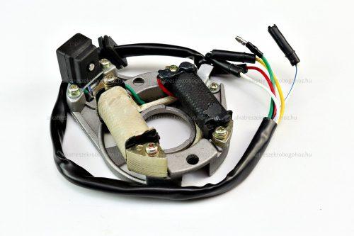 Gyújtás alaplap állórész QUAD / ATV 2 tekercses