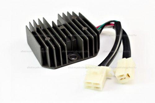 Feszültség szabályzó 6 vezetékes 12V 15A DC tip 7 RV-03-04-07