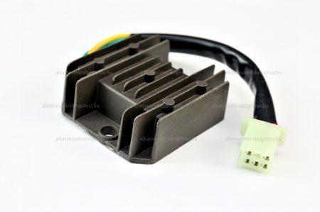 Feszültség szabályzó 5 vezetékes 12V AC / DC tip 1