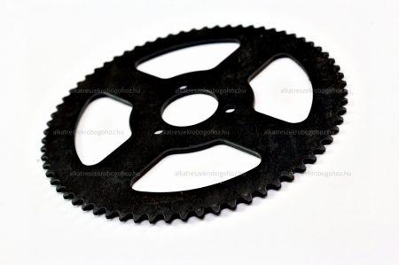 Lánckerék hátsó Pocket Bike 74 fogas vékony láchoz H25 (547)