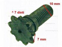 Lánckerék első 7 fogas (vékony láchoz) 10mm-es Pocket Bike