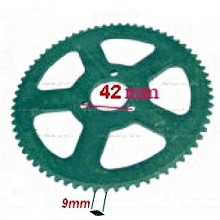 Lánckerék hátsó Pocket Bike 54 fogas vastag lánchoz H35