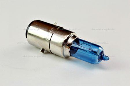 Izzó 12V 35/35W kék BA20D