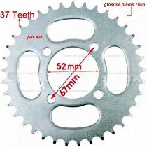 Lánckerék hátsó 428 37 fogas Dirt Bike