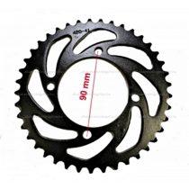 Lánckerék hátsó 420 41 fogas 6mm Dirt Bike