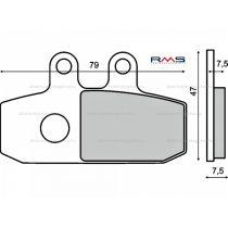 Fékbetét első Aprilia Atlantic 500cc/RMS 0680