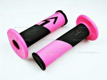 Domino markolat fekete - rózsaszín
