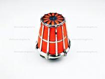 Levegőszűrő sport 35mm szivacsos piros