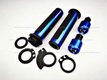 Barracuda gázkar / markolat szett (kék)
