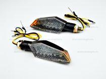 Index LED-es fekete szögletes W STANDARD E11