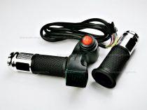 Sebességkapcsolós gázkar elektromos kerékpárhoz