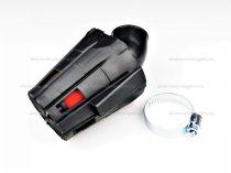 Levegőszűrő sport 35mm 45 fokos fekete