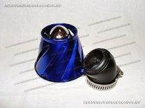 Levegőszűrő sport 35mm 45 fokos BLUE TWN