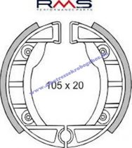 Fékpofa 105X20 APRILIA / PIAGGIO SI RMS 0200
