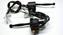 Kormánykapcsoló szett MOPED 4T fekete RV-03-08-03