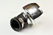 Levegőszűrő sport króm 42mm 45 fokos RV-05-01-54