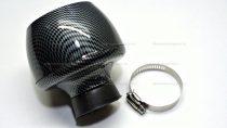 Levegőszűrő sport 39MM karbon TURBO egyenes