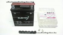 Akkumulátor ELEKTRA 12V 6AH YTX7L-BS RMS 0060