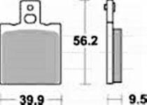 Fékbetét Honda NSR 125 89-90 SGR 646LF