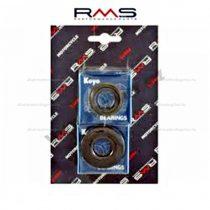 Csapágy + szimering szett KOYO (acélkosaras) Yamaha 50ccm robogókhoz RMS 0340