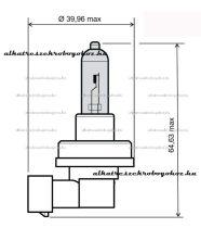 Izzó H11 12V 35W RMS 0085