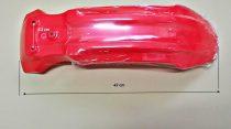 Első sárvédő piros FYDB 125ccm
