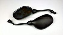 Tükör fekete 10mm + 8-as átalakító szett RV-18-02-11