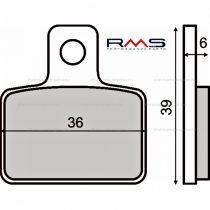 Fékbetét GAS / Sherco 125-290 / Beta Rev 3 250 00-04 (MCB767) RMS 0650