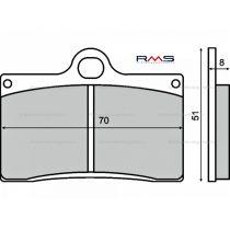 Fékbetét első Aprilia R 250ccm / Cagiva Mito  125 92-05 RMS 0520