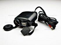 Motoros szivargyújtó és USB töltő DC 12V/24V