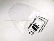 Szélvédő plexi univerzális 420mm / 455mm