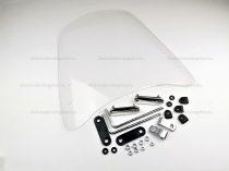 Szélvédő plexi univerzális 395 x 370mm TIP 3