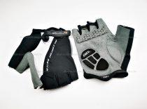 Kesztyű újjatlan LEOSHI fekete - fehér XL-es