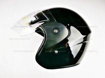 Bukósisak AWINA nyitott fekete fényes XL méret