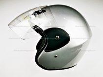 Bukósisak AWINA nyitott ezüst XL méret