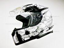 Bukósisak zárt AWINA fehér - szürke XS méret