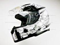 Bukósisak zárt AWINA fehér - szürke S méret