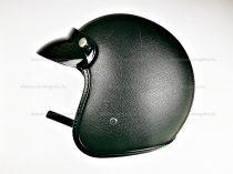 Bukósisak AWINA nyitott fekete bőr XS méret