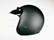 Bukósisak AWINA nyitott fekete - fehér bőr XL méret