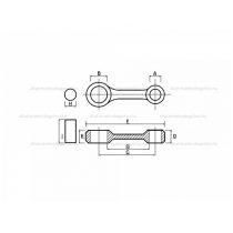 Főtengely felújító Aprilia ROTAX 250ccm